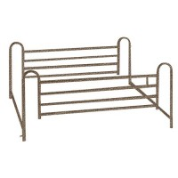 Drive Medical Full Length Hospital Bed Side Rails - 1 Pair