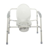 Drive Medical Heavy Duty Bariatric Folding Bedside Commode Seat - 1 ea