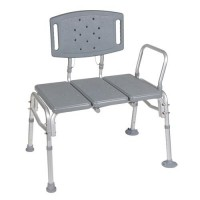 Drive Medical Heavy Duty Bariatric Plastic Seat Transfer Bench - 1 ea