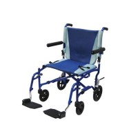 Drive Medical TranSport Aluminum Transport Wheelchair - 1 ea
