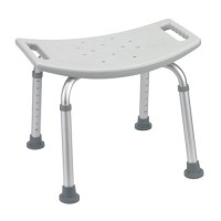 Drive Medical Bathroom Safety Shower Tub Bench Chair, Gray - 1 ea