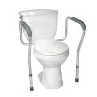 Drive Medical Toilet Safety Frame with Padded Armrests - 1 ea