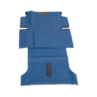 Drive Medical Trotter Mobility Rehab Stroller Colored Upholstery Replacement, 18 inches, Blue - 1 ea