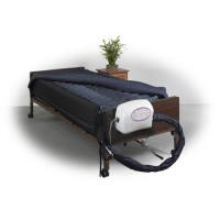 Drive Medical Lateral Rotation Mattress with on Demand Low Air Loss, 10 inches - 1 ea