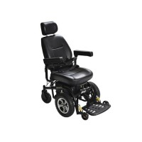 Drive Medical Trident Front Wheel Drive Power Chair, 18 inches Seat - 1 ea