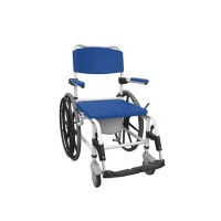 Drive Medical Aluminum Shower Mobile Commode Transport Chair - 1 ea