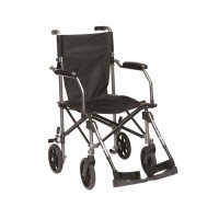 Drive Medical Travelite Chair in a Bag Transport Wheelchair - 1 ea
