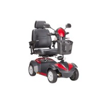 Drive Medical Ventura Power Mobility Scooter, 4 Wheel, 18 inches Captains Seat - 1 ea