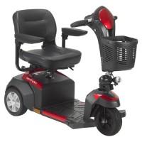 Drive Medical Ventura Power Mobility Scooter, 3 Wheel, 18 inches Folding Seat - 1 ea