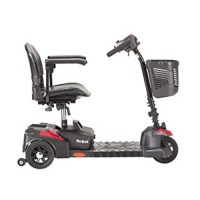 Drive Medical Spitfire Scout Compact Travel Power Scooter, 3 Wheel - 1 ea