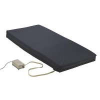 Drive Medical Balanced Aire Powered Alternating Pressure Air/Foam Mattress, 35 inches Width - 1 ea