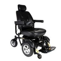 Drive Medical Trident HD Heavy Duty Power Chair, 24 inches Seat - 1 ea