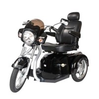 Drive Medical Maverick Executive Three Wheel Power Scooter, 22 inches Seat - 1 ea