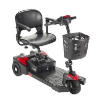 Drive medical scout compact travel power scooter, 3 wheel, extended battery - 1 ea