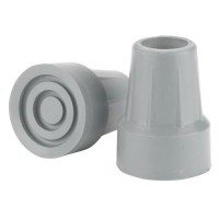 Drive Medical Crutch Tips, 7/8 inches, Gray - 1 Pair