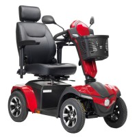 "Drive medical panther 4 - wheel heavy duty scooter, 22"" captain seat - 1 ea"