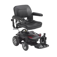 "Drive Medical Titan LTE Power Wheelchair, 18"" Folding Seat"