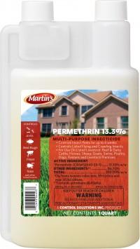 Control Solutions Inc permethrin 13.3% insecticide concentrate - 1 quart, 12 ea