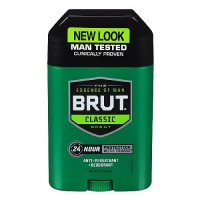 Brut Oval Solid Anti-Perspirant and- Deodorant - 2 Oz