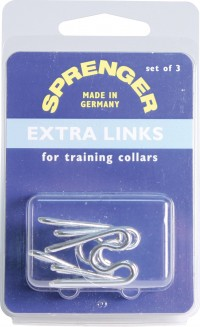Coastal Pet Products sprenger extra links for dog training collar - 2.5 mm, 48 ea