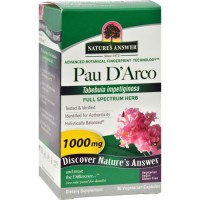 Nature's Answer Pau D'Arco 1000 mg vegetarian capsules - 90 ea