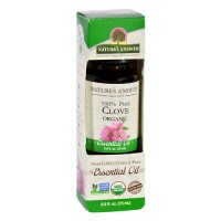 Natures answer organic essential oil 100 percent pure clove - 0.5 oz