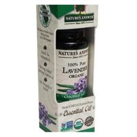 Natures answer organic essential oil 100 percent pure lavender - 0.5 oz