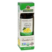 Natures answer organic essential oil 100 percent pure lemon - 0.5 oz