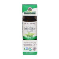 Natures answer Lemongrass organic oil - 0.5 oz