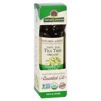 Natures answer organic essential oil 100 percent pure tea tree - 0.5 oz