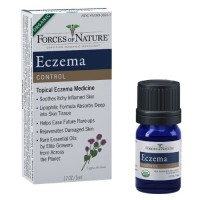 Forces of nature eczema control product - 0.17 oz