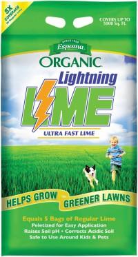 Espoma Company organic lightning lime - 30 pound, 1 ea