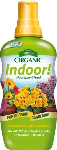 Espoma Company organic indoor houseplant food - 8 oz, 12 ea