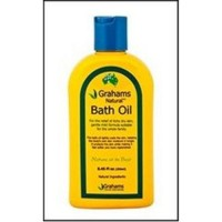 Natural bath oil grahams natural -  8.45 oz