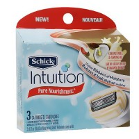 Schick Intuition Moisturizing Razor Blade Refills for Women - 3 ea