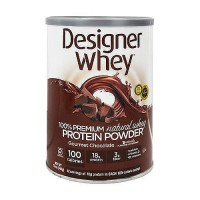 Designer Whey 100% premium chocolate protein powder - 12 oz