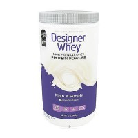 Designer Whey protein powder, Naturally flavored - 2 lb