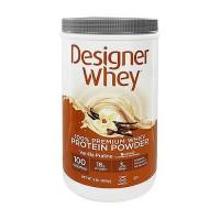 Designer Whey protein powder, vanilla praline - 2 lb