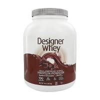 Designer whey premium whey protein powder, Double chocolate - 4 lb