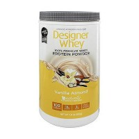 Designer Whey protein powder, vanilla almond - 1.9 lb