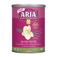 Designer Protein Vegan Aria Womens Sports Nutrional Supplement, Vanilla - 12 oz