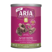 Designer Protein Vegan Aria Womens Sports Nutrional Supplement, Chocolate - 12 oz