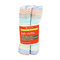 Full circle tidy dish cloths, 100% cotton - 3 ea, 12pack