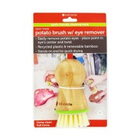 Full circle tater mate potato brush with eye remover - 1 ea, 6pack