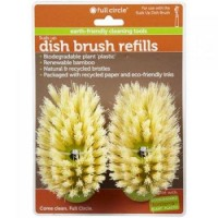 Full circle suds up soap dispensing dish brush 2 pack refill, green - 2 ea, 12 pack