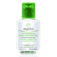Elyptol antimicrobial hand sanitizer gel - 0.5 oz