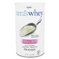 Tera's whey - rbgh free whey protein plain whey unsweetened - 12 oz