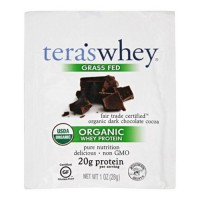 Tera's whey grass fed organic whey protein - 1 oz, 12 pack