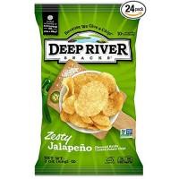 Deep river snacks zesty jalapeno - 2 oz, 24 pack