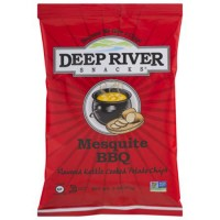 Deepriver snacks mesquite BBQ kettle cooked potato chips - 2 oz